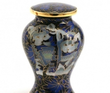 Cat Ceramic Cremation Urns