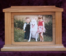 CW Rectangle Photo Frame Pet Urn