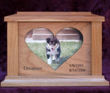 CW Heart Photo Frame
