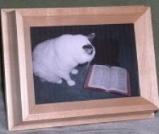 Portrait Frame Pet Urn