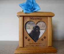 Wood Urns for Pets