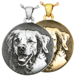 Engraved Dog Necklaces & Chains