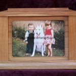CW Rectangle Photo Frame Pet Urn